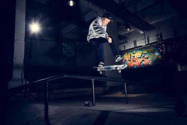 Skateboard Fotoworkshop Trondheim – Johannes Sundby Aukan