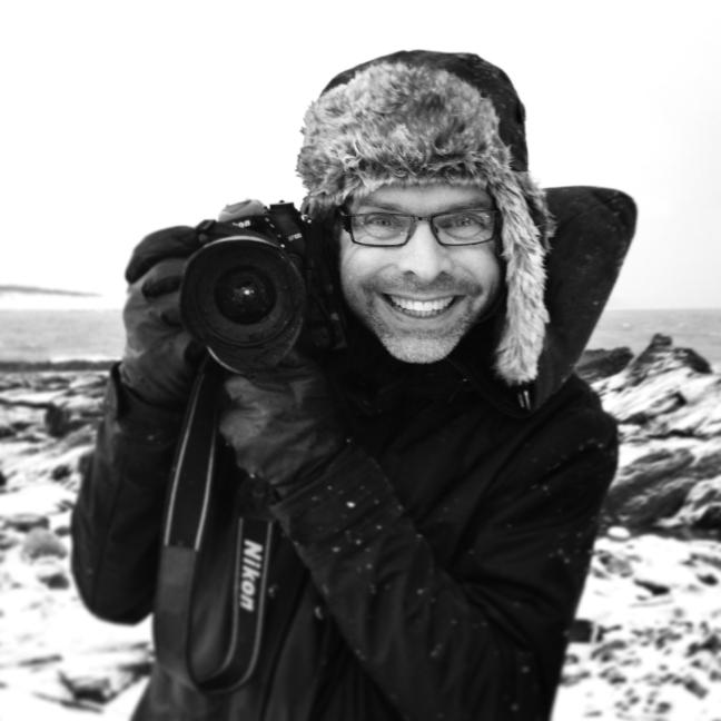 Fotograf Bjørn Joachimsen. Foto: ©Julia M. Rønneberg.