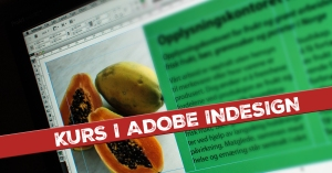 Kurs i Adobe InDesign