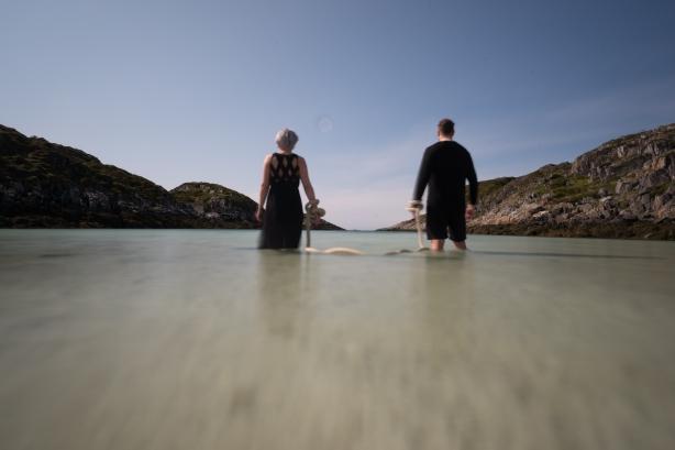 Menneske og landskap – kreativ fotoworkshop på Sandøya. ©Bjørn Joachimsen.