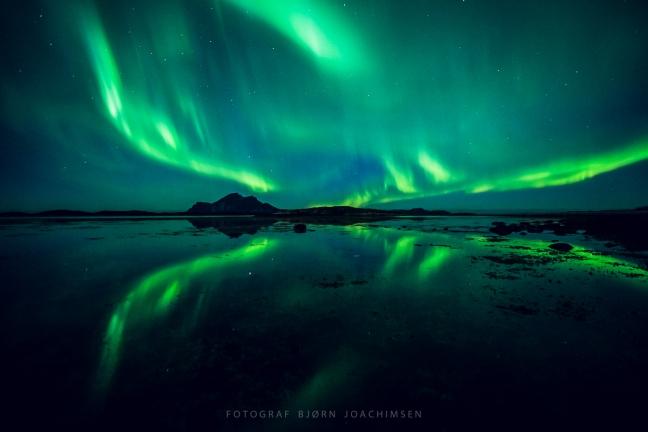 Nordlysfotoworkshop i Lofoten. ©Bjørn Joachimsen.