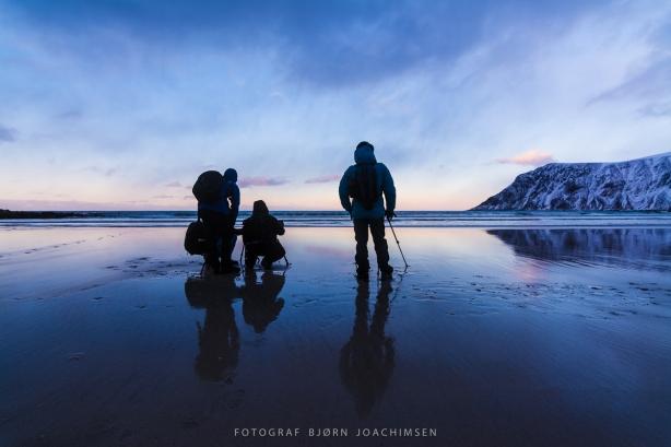 Fototurister i Lofoten